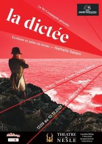 Affiche La dictée - Théâtre de Nesle