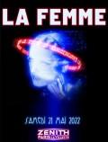La Femme au Zénith de Paris