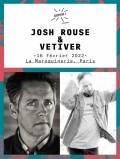 Josh Rouse & Vetiver à la Maroquinerie