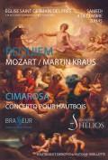 L'Orchestre Hélios, Chœurs Elisabeth Brasseur et Antoine Sebillotte en concert