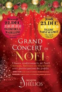 L'Orchestre Hélios, Chœur Tempestuoso, Chœur La Gondoire et Chœur Darius Milhaud en concert