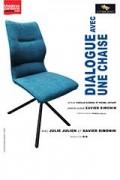 Affiche Dialogue avec une chaise - Théâtre L'Essaïon