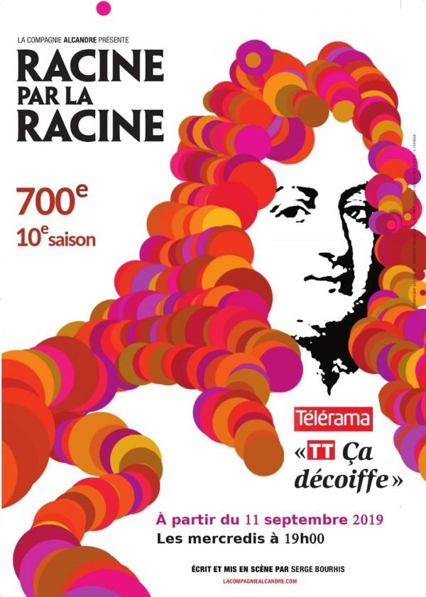 Affiche Racine par la racine - Théâtre L'Essaïon