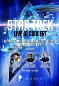 Ciné-concert « Star Trek » salle Pleyel