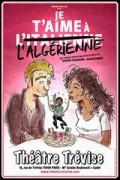 Affiche Je t'aime à l'italienne - Théâtre Trévise