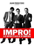 Affiche Impro ! Le spectacle d'impro - Théâtre de Nesle