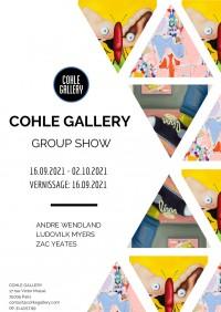 André Wendland, Ludovilk Myers, Zac YeatesE à la Cohle Gallery