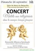 L'Ensemble Musica Spirituale en concert
