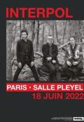 Interpol salle Pleyel