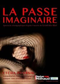 Affiche La passe imaginaire - Théâtre Darius Milhaud