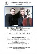 Jonathan Bloom et David Berdery en concert