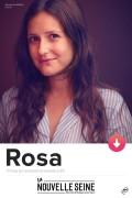 Affiche Rosa Bursztein - La Nouvelle Seine
