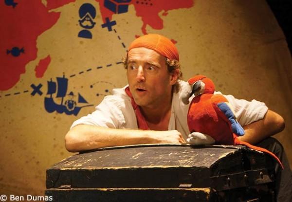 Augustin, pirate des Indes : perroquet
