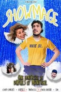 Affiche Showmage - Théâtre L'Essaïon