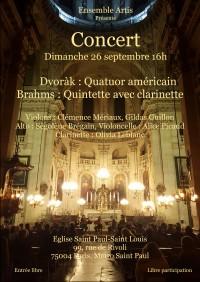 L'Ensemble Artis en concert