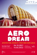 Affiche de l'exposition Aerodream à la Cité de l'Architecture et du Patrimoine