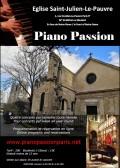 Piano Passion à Saint-Julien-le-Pauvre