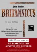 Affiche Britannicus - Théâtre Le Passage vers les Étoiles