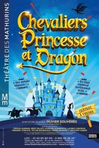 Affiche Chevaliers, Princesse et Dragon - Théâtre des Mathurins
