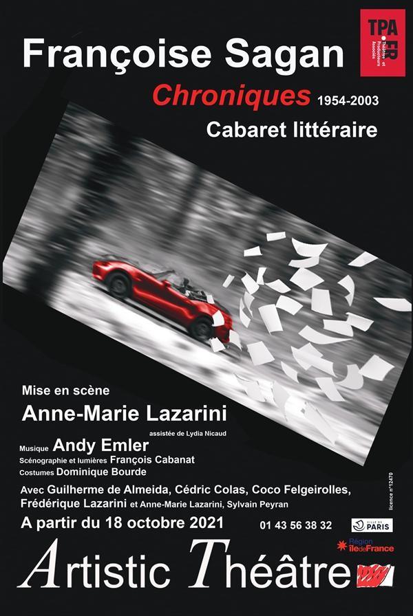 Affiche Chroniques 1954-2003 - Artistic Théâtre