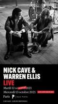 Nick Cave et Warren Ellis salle Pleyel