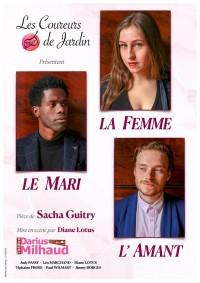 Affiche Le mari, la femme et l'amant - Théâtre Darius Milhaud