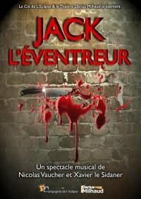 Affiche Jack l'éventreur - Théâtre Darius Milhaud