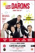 Affiche Les Darons - Doux, Drôles et Dingues ! - Café de la Gare