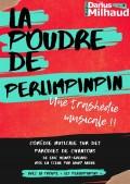 Affiche La poudre de perlimpinpin - Théâtre Darius Milhaud
