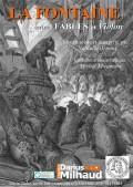 Affiche La Fontaine entre fables et violon - Théâtre Darius Milhaud
