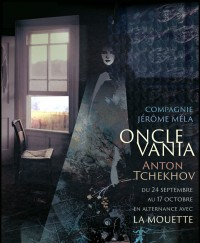Oncle Vania / La Mouette au Centre Mandapa - Affiche