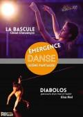 Affiche Emergence Danse - Scène partagée - Théâtre Darius Milhaud