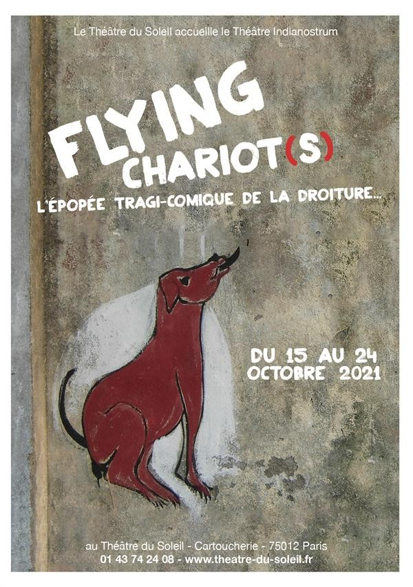 Affiche Flying Chariot(s) - Théâtre du Soleil