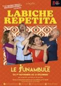 Affiche Labiche repetita - Le Funambule