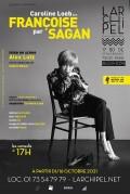 Affiche Caroline Loeb - Françoise par Sagan - L'Archipel