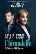 Affiche L'hirondelle - Théâtre Hébertot