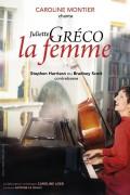 Affiche Caroline Montier chante Juliette Gréco « La Femme » - Théâtre L'Essaïon