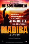 Affiche Madiba - Le musical - Le Grand Rex
