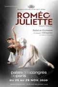 Affiche Le Bolchoï de Minsk - Roméo & Juliette - Palais des Congrès de Paris