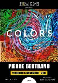 Pierre Bertrand au Bal Blomet