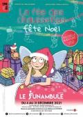 Affiche La Fée des chaussettes fête Noël - Le Funambule
