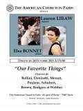 Lauren Libaw et Elsa Bonnet en concert