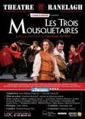 Affiche Les Trois Mousquetaires - Théâtre Ranelagh