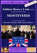 British Cantores Chamber Choir en concert
