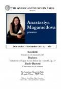 Anastasiya Magamedova en concert