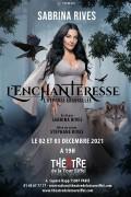 Affiche Sabrina l'Enchanteresse, l'hypnose ensorcelée - Théâtre de la Tour Eiffel