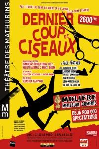 Dernier coup de ciseaux au Théâtre des Mathurins
