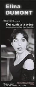 Elina Dumont - Affiche