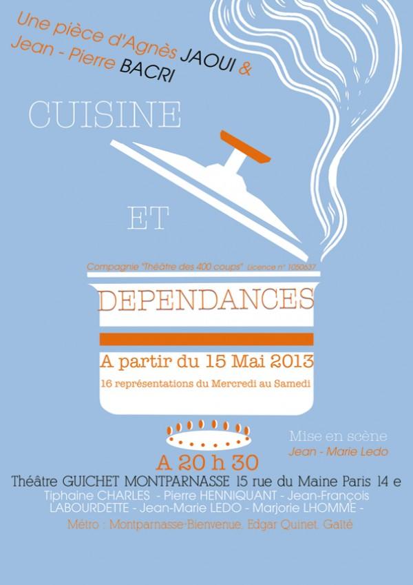 Cuisine et d pendances guichet montparnasse l 39 officiel - Cuisine et dependance theatre ...