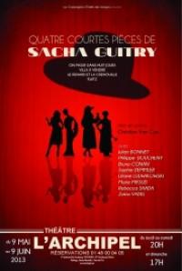 Quatre courtes pièces de Sacha Guitry
